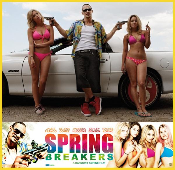 Springbreakers di Harmony Korine: le foto ufficiali. James Franco con Ashley Benson e Vanessa Hudgens