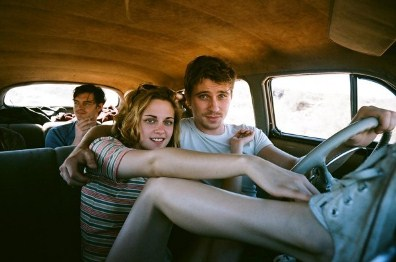 kristen stewart, sam riley e garrett hedlund in on the road