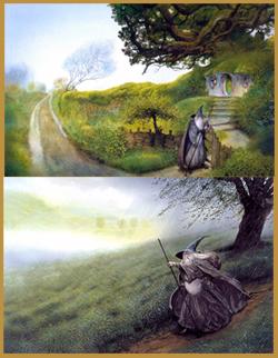 Gandalf secondo il grande illustratore John Howe