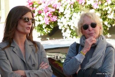 Chiara Mastroianni e Claire Denis - Festival de Deauville 2011