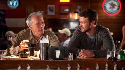 Clint Eastwood e Justin Timberlake in Trouble with the curve