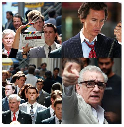 Leonardo DiCaprio e Matthew McConaughey in The Wolf of Wall Street