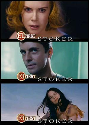 Kidman, Goode, Wasikowska IN STOKER