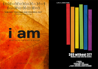 SOME PREFER CAKE 2012 - Focus India, i documentari: I Am, di Sonali Gulati e 365 without 377 di Adele Tulli