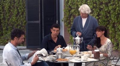 raoul bova, alessandro gassman, michele placido, ambra angiolini in Viva l'Italia