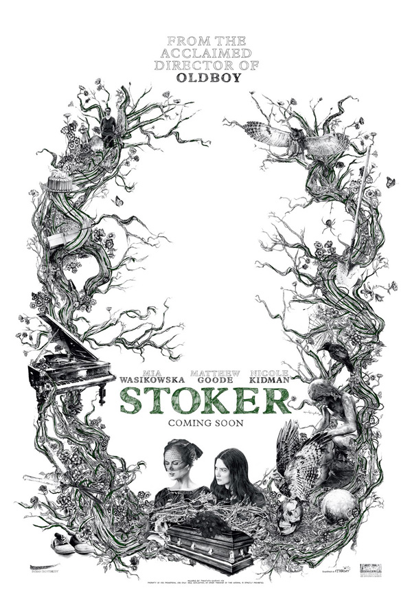 Stoker di Park Chan-Wook, poster e making of