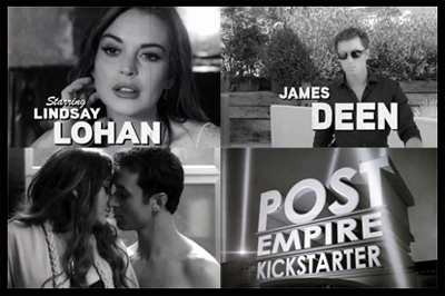 Lindsey Lohan e James Deen - THE CANYONS - trailer anni 50