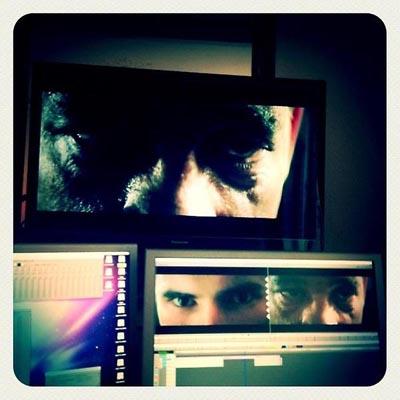 Il nuovo film di Fabrice Du Welz COLT 45 in fase di montaggio