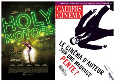 Holy Motors, miglior film del 2012 per i Cahiers du Cinéma
