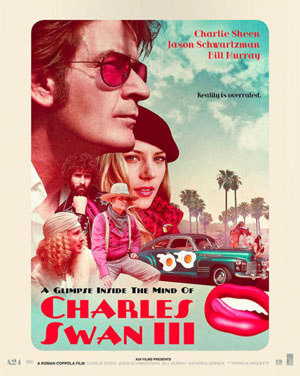 Poster anni '70 per A Glimpse Inside the Mind of Charles Swan III, di ROMAN COPPOLA