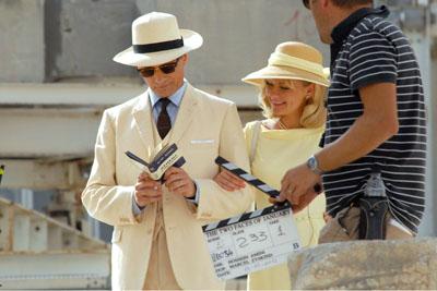 Viggo Mortensen e Kirsten Dunst sul set di THE TWO FACES OF JANUARY