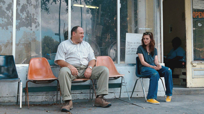 James Gandolfini e Kirsten Stewart in Welcome to the Rileys, di Jake Scott