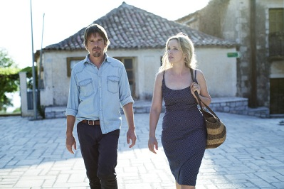 ethan hawke e julie delpy in Before Midnight fuori concorso alla 63° Berlinale