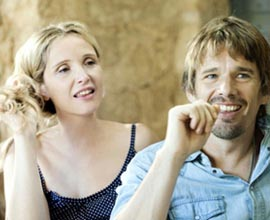 Ethan Hawke e Julie Delpy in Before Midnight, le foto ufficiali