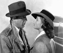 humphrey bogart e ingrid bergman in Casablanca