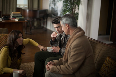 James Franco, Catherine Keener, David Strathairn in MALADIES, di Carter - Berlinale 63