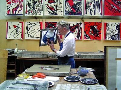 David Lynch, un corto omaggio all'arte della litografia: Idem Paris