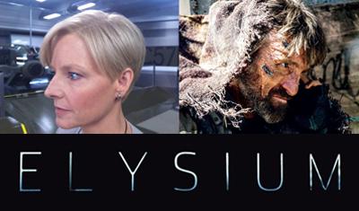 Jodie Foster e Sharlto Copley, i cattivi di Elysium