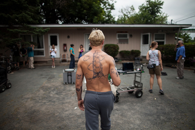 The Place Beyond The Pines, nuove foto dal set - Ryan Gosling