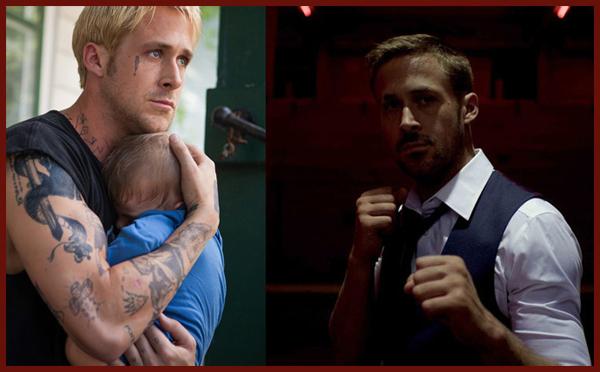Ryan Gosling in Come un tuono e Only God Forgives