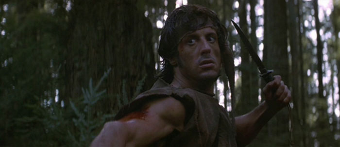 first blood sylvester stallone