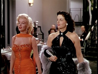 marilyn monroe e jane russell in