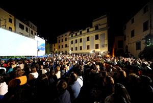 Piazzale Frigo, Montefiascone durante la scorsa edizione del Festival