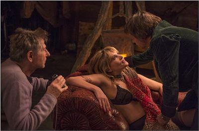Roman Polanski sul set con Emmanuelle Seigner e Mathieu Amalric