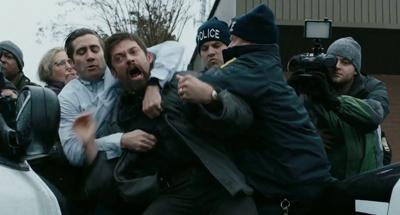 Jake Gyllenhaal e Hugh Jackman in Prisoners di Denis Villeneuve