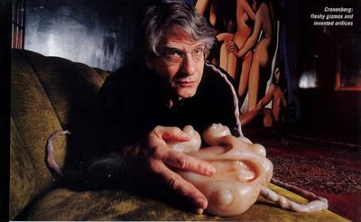 David Cronenberg con un Pad di eXistenZ
