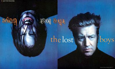Trent Reznor e David Lynch nel 1997 su Rolling Stone
