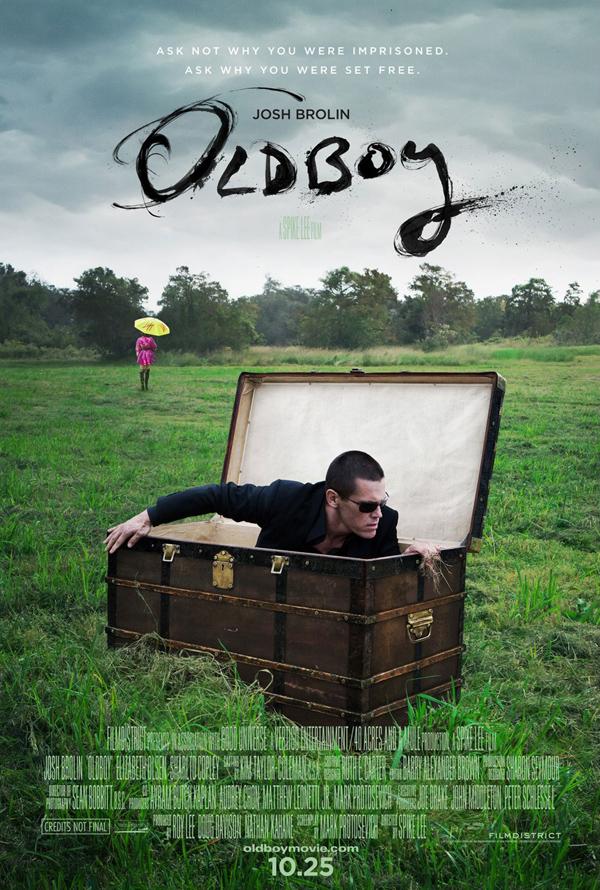 Oldboy (il remake, di Spike Lee) - poster ufficiale di Neil Kellerhouse