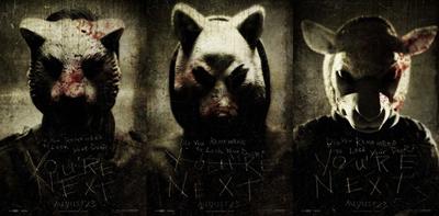Poster - le maschere di You're Next di Adam Wingard