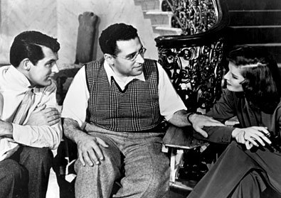 george cukor sul set con cary grant e katharine hepburn