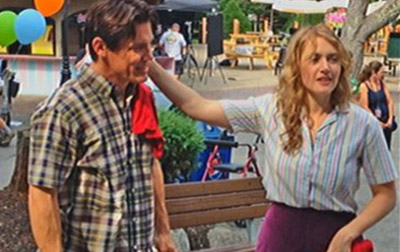 Josh Brolin e Kate Winslet, sul set di LABOR DAY