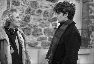 Padre e figlio: Philippe Garrel e Louis Garrel sul set di La Jalousie