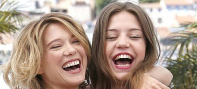 Léa Seydoux e Adèle Exarchopoulos - Cannes 66