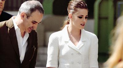 Kirsten Stewart e Olivier Assayas