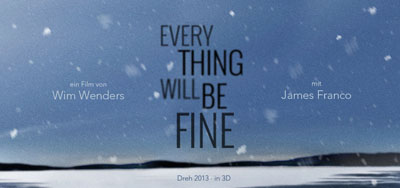 James Franco e Wim Wenders: Every Thing Will Be Fine, nuovo film in 3D