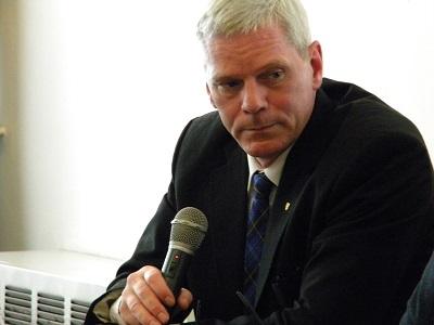Hrafnsson, portavoce di Wikileaks al festival dei popoli