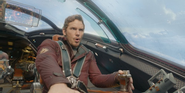 Peter Quill alias Star-Lord in Guardiani della Galassia-Guardians of Galaxy