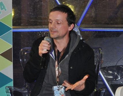 Il 32esimo Bergamo Film Meeting ha dedicato all'animatore Pierre-Luc Granjon una mostra con disegni, bozzetti e progetti dei suoi lavori e la proiezione di tutti i suoi lavori. Il giovane artista ha oggi incontrato il pubblico.