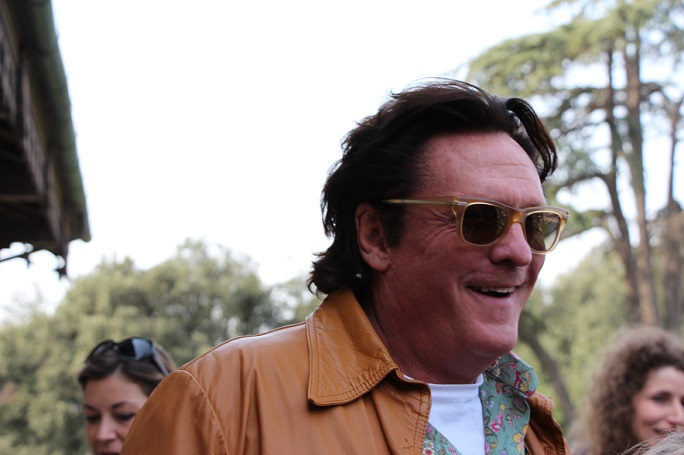 Michael Madsen, photocall presso la Casa del Cinema di Roma per Hope Lost