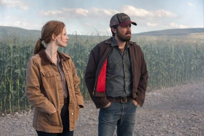 jessica chastain e casey affleck in interstellar